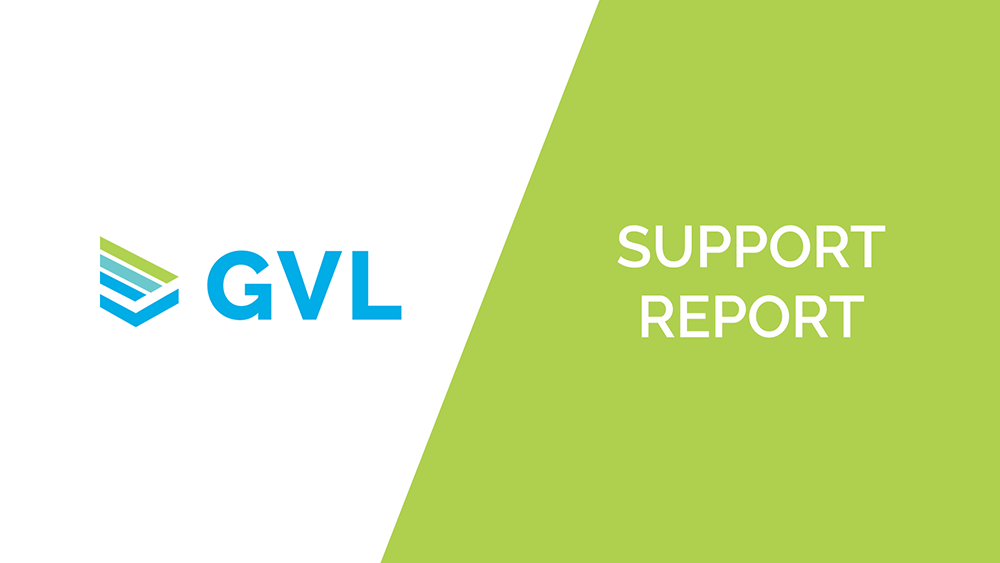 Support Report from GVL Customer Success – November 2020