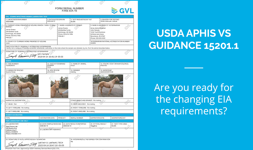 GVL Digital EIA Tests Approved by USDA for New Guidance